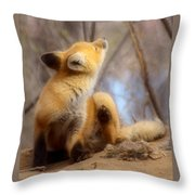 I Think I Got It Throw Pillow by Thomas Young