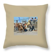 Flying Shadow Throw Pillow