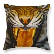 I Want My Morning Coffee Throw Pillow