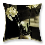Delicate Reflection Throw Pillow