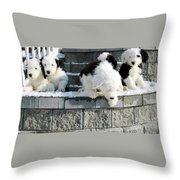 I Want To Jump Throw Pillow