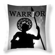 I Warrior Throw Pillow