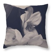 I Was Always Your Flower Throw Pillow by Laurie Search