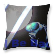 I Will Be Back - Croatian Fly Throw Pillow