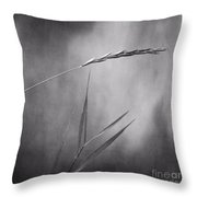 I Will Hold You In Black And White Throw Pillow