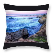 I Will Put You In A Cleft In The Rock Throw Pillow