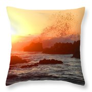 I Will Rise Again Tomorrow Throw Pillow