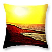 I Hope I Will See You In The Morning  Throw Pillow
