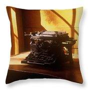 I Write No More Throw Pillow