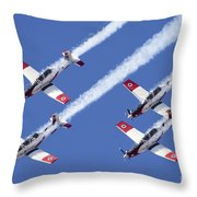 Iaf Flight Academy Aerobatics Team 6 Throw Pillow