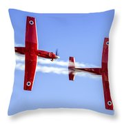 Iaf Flight Academy Aerobatics Team-a Throw Pillow