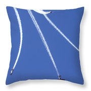 Iaf Flight Academy Aerobatics Team Throw Pillow