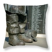Iaff Fallen Firefighters Memorial 1  Throw Pillow