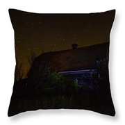 Ian At Boylan Creek Throw Pillow