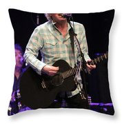 Ian Hunter And The Rant Band Throw Pillow