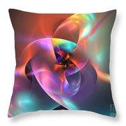 Iapetus Throw Pillow