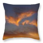 Icarus's Wings Throw Pillow