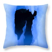 Ice 16 Throw Pillow