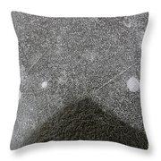 Ice 6 Throw Pillow