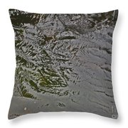 Ice Abstration 1 Throw Pillow