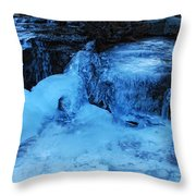 Ice Age Begins Throw Pillow