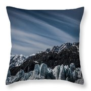 Ice And Sky With My Little Eye Throw Pillow