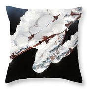 Ice And Snow-5537 Throw Pillow