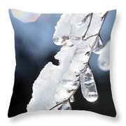 Ice And Snow-5601 Throw Pillow