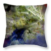 Ice Clouds Throw Pillow