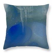 Ice Cold Fairytale... Throw Pillow