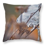 Ice Drop Throw Pillow