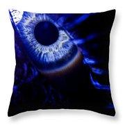 Ice Eye Throw Pillow