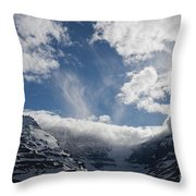 Ice Field Parkway Throw Pillow