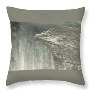Ice Flow 16 Throw Pillow