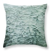 Ice Formations IIi Throw Pillow