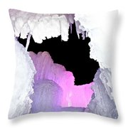 Ice Fringe Throw Pillow
