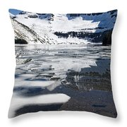Ice In The Water Throw Pillow