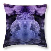 Ice King Throw Pillow