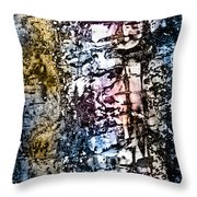 Ice Number Five Throw Pillow