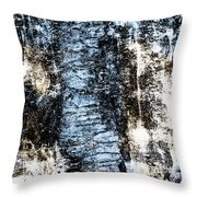 Ice Number Two Throw Pillow