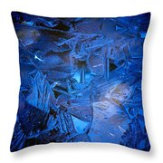 Ice Slace Throw Pillow