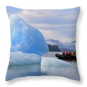 Iceberg Ahead Throw Pillow