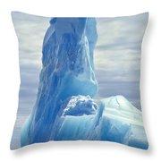 Iceberg Antarctica Throw Pillow