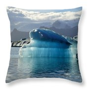 Iceberg Throw Pillow