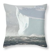 Iceberg In Bransfield Strait Throw Pillow