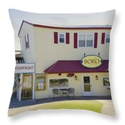 Icehouse Waterfront Restaurant 1 Throw Pillow
