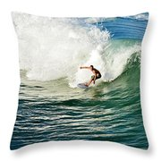 Icing The Cake Throw Pillow by Laura Fasulo
