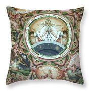 Icon Of God Throw Pillow