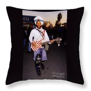 Icon Of Venice Beach California Throw Pillow