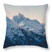 Iconic Arlberg Throw Pillow